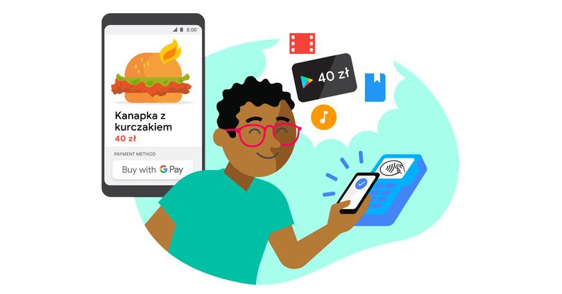 Karta Podarunkowa O Wartosci 40 Zl Za 5 Platnosci Przy Pomocy Google Pay